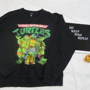 ⚡️Forever 21 Ninja Turtle Crew Neck